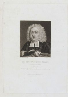 REV. MR THOMAS SMART (1822) | Portrait after Reynolds (1735, private collection): Mezzotint with scratching, 22.6 x 16.3cm, British Museum. 'Rev. Mr Smart was Vicar of Maker when 11-year-old Reynolds painted his portrait in 1735, the same year the sitter died. This print is a later derivation of the oil on canvas that is in private hands. With art materials provided by George, 1st Earl of Mount Edgcumbe (1720-1795), it is traditionally believed to be Reynolds' first oil painting.'     ✫ღ⊰n