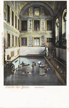 Loëche-les-Bains, Interieure Louvre, Spa, Wellness, Building, Travel, Viajes, Buildings, Trips, Traveling