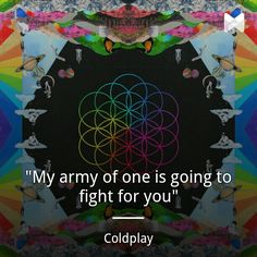 Army of One - Coldplay