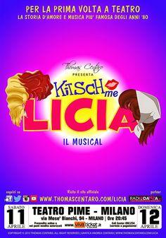 """TG Musical e Teatro in Italia: Debutta a Milano """"Kitsch Me Licia"""""""