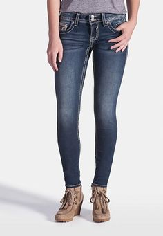 vigoss � dark wash jegging (original price, $68) available at #Maurices
