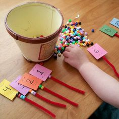 pipecleaners and beads