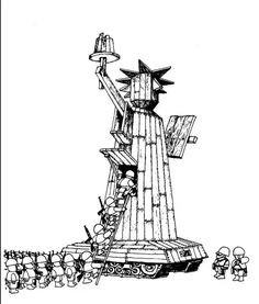 """We bring you """"freedom""""! From Argentinean master cartoonist Quino. Satirical Illustrations, Ink Illustrations, Graphic Illustration, Political Images, Political Art, Political Cartoons, Bd Comics, Humor Grafico, Comic Strips"""