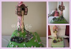 Amazing tangled cake