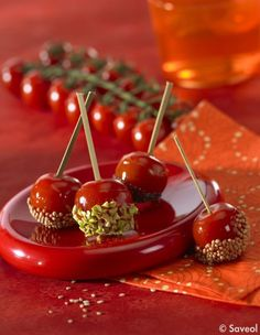 En pop cakes - 20 possibilités autour de la tomate