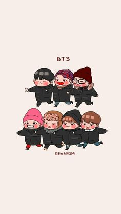 Find images and videos about kpop, bts and text on We Heart It - the app to get lost in what you love. Bts Chibi, Chibi Wallpaper, Cartoon Wallpaper, Oppa Ya, Bts Pictures, Photos, Cartoon Fan, Dibujos Cute, Bts Drawings