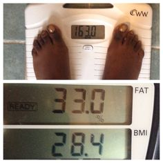 My weightloss goal is to lose 18lbs. Also to decrease my % of Body Fat