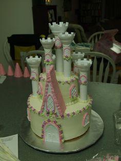 Wilton Castle Cake  | Becky's Sweets: Princess Castle Cake