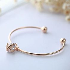Buy 'Cuteberry – Rhinestone-Detail Bangle' with Free International Shipping at YesStyle.com. Browse and shop for thousands of Asian fashion items from China and more!
