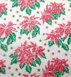Blue Christmas, Retro Christmas, Vintage Holiday, Vintage Christmas Wrapping Paper, Christmas Gift Wrapping, Vintage Ephemera, Vintage Paper, Old Fashioned Christmas, Paper Gifts