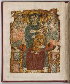 MS M.574.1v | Coptic Bindings | The Morgan Library & Museum