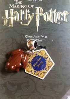 Harry Potter Bracelet Charm Studio Tour London Chocolate Frog Silver Plated New London Chocolate, Warner Studios, Harry Potter Bracelet, Chocolate Frog, London Tours, Pandora Bracelet Charms, Sliders, Hogwarts, Silver Plate