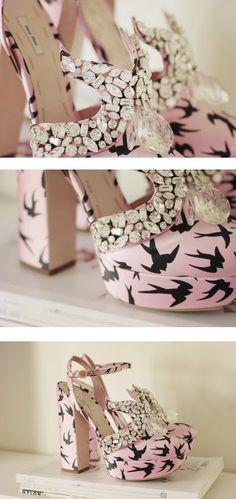 We LOVE these Miu Miu shoes!