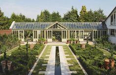 Aluminium greenhouse - 2000 - Marston & Langinger