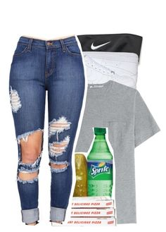 """""""I want you to play with my dingaling """" by drakeschild ❤ liked on Polyvore featuring NIKE and T By Alexander Wang"""