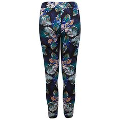 Buy Miss Selfridge Tropical Joggers, Multi Online at johnlewis.com