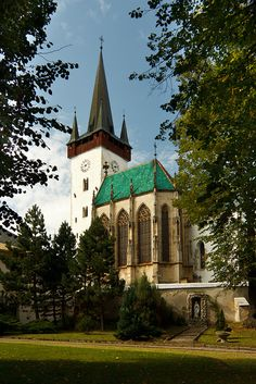 Church of St. Ladislaus in Spišský Štvrtok, Slovakia The Places Youll Go, Great Places, Places To See, Beautiful Places, Altar, Voyager Loin, Central And Eastern Europe, Sacred Architecture, Interesting Buildings
