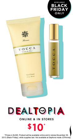 Black Friday Preview: Tocca Florence Travel Fragrance Duo #Dealtopia #Sephora #blackfriday