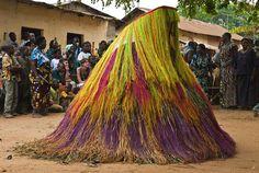 Nigerian 'Egungun' spirits