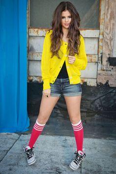 Photos : Selena Gomez : Sexy Et Fluo Pour Adidas Neo !