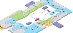 Gatwick Airport maps