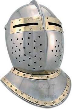 European Bascinet Helmet