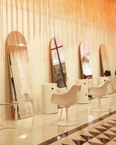Glam5 beauty salon by Haldane Martin, Cape Town – South Africa » Retail Design Blog