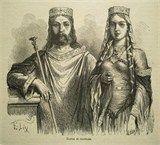 CLOVIS I 'The Great' King of the Salian Franks, 1st King of all Franks, Consul of the Roman Empire Merovingian 52nd GG - Overview - Ancestry.com. Clovis & Clothilde
