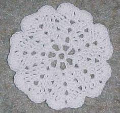 PLATE COASTER Crochet Pattern - Free Crochet Pattern Courtesy of Crochetnmore.com