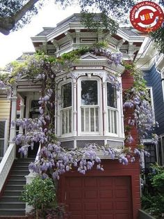 Interesting window.  Victorian house.   Eastlake Stick Style. Looks like San Francisco.
