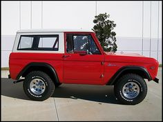 Nearly new 1966 Ford Bronco