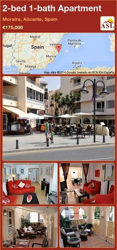 2-bed 1-bath Apartment in Moraira, Alicante, Spain ►€175,000 #PropertyForSaleInSpain