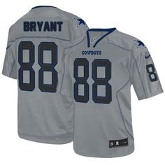 Nike Limited Dez Bryant Lights Out Grey Men s Jersey - Dallas Cowboys  88  NFL Cowboys 5eb1da509