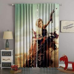 3D Printed Resident Evil Style Custom Living Room Curtains Teal Curtains, Cottage Curtains, French Curtains, Elegant Curtains, Custom Curtains, Panel Curtains, Bedroom Curtains, French Country Living Room, French Country Style
