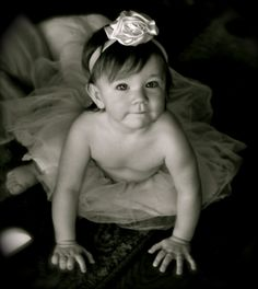 One of Madelyn's First Birthday Pics