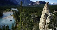 Our list of the best things to do in Banff, Canada. From outdoor adventures, eating, shopping, and romantic experiences. See the best that Banff has to offer. Stuff To Do, Things To Do, Whitewater Rafting, Canadian Rockies, Banff, Waterfall, Canada, Canoeing, Explore