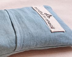 Earth-friendly Eye Pillow handmade in Ireland by The Mindful Menace Meditation Gifts, Yoga Gifts, How To Get Sleep, Buckwheat, Diy Pillows, Life Savers, Cool Tools, Good Night Sleep, Mindful