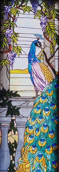 Fagerskog Stained Glass - Someday I'll be able to make this.   Well, more like some year.