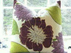 4 SIZES Decorative Pillow CoverDesigner by thecottagecupboard. , via Etsy.