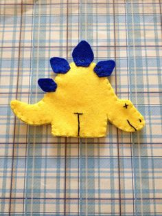 Dinosaur finger puppet set by JandELearning on Etsy
