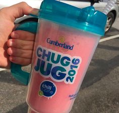 Just $1.99 for a 2016 Chug Jug gets you 49 cent frozen and fountain refills from Cumberland Farms' Chill Zone all summer long!