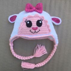 There are so many Lambie hats on Etsy, and yes, I made it too.