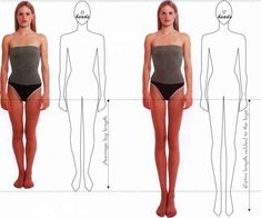 Excellent Resources.  Fashion figure proportions - Illustration - Odea Fashion NY