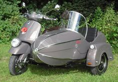 The new Watsonian GP Manx and Vespa GTS or GTV sidecar combination may be the…