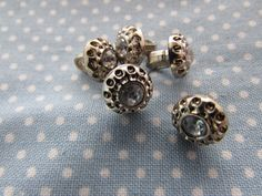 Get creative with these Silver Gem Centre... come have a look. http://www.smartasabutton.com/products/silver-gem-centred-buttons?utm_campaign=social_autopilot&utm_source=pin&utm_medium=pin #smartasabutton #buttons #craftsandhobbies