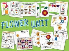 flower unit, printables