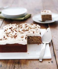 Pecan Cake With Rum Frosting: Mix a splash of rum into the creamy frosting to add a subtle kick.