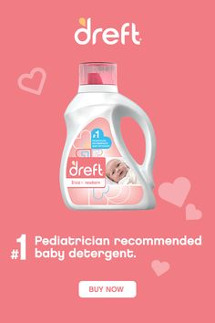 Dreft is the #1 pediatrician recommended baby detergent. Its hypoallergenic formula is designed to be gentle on newborns' delicate skin. Dreft has been trusted by moms washing their baby's laundry for over 80 years. Dicipline For Toddlers, Baby Sign Language Chart, Liquid Laundry Detergent, Positive Discipline, Midwifery, Hospital Bag, Newborn Babies, Baby Furniture, Baby Registry