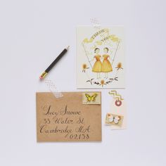 Box of Thank You Notecards, Julianna Swaney