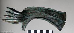 Hellenic era block, New Kingdom axes discovered in Egypt's Aswan
